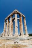 Templo do Zeus do olímpico Imagem de Stock Royalty Free