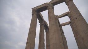 Templo do Zeus do olímpico vídeos de arquivo