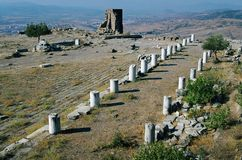 Templo do Zeus, Pergamon imagem de stock royalty free