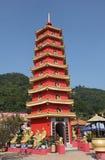 Templo dos 10000 Buddhas Fotografia de Stock
