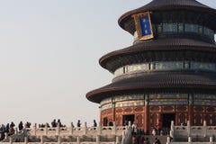 Templo dos céus, Pequim China Fotografia de Stock