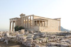 Templo dos deuses gregos imagem de stock royalty free