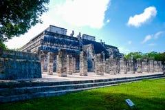 Templo dos guerreiros foto de stock royalty free