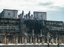 Templo dos guerreiros Fotografia de Stock Royalty Free