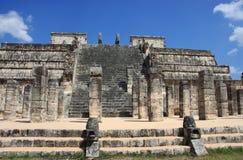Templo dos guerreiros Imagem de Stock