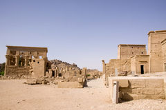 Templo dos philae fotos de stock royalty free