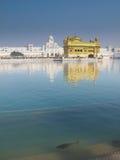 Templo dourado foto de stock