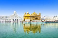 Templo dourado fotografia de stock royalty free