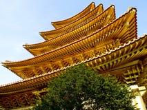 Templo dourado Fotografia de Stock