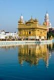 Templo dourado, Amritsar. imagem de stock royalty free