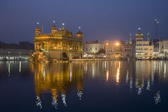 Templo dourado - Amritsar - India imagem de stock royalty free