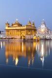 Templo dourado, Amritsar - India Fotografia de Stock