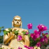 Templo dourado de Dambulla, Sri Lanka Fotos de Stock