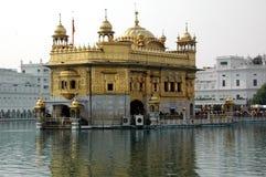 Templo dourado em Amritsar Imagem de Stock