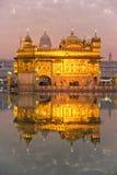 Templo dourado em Amritsar fotos de stock royalty free