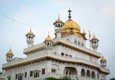 Templo dourado em Amritsar, India Fotos de Stock Royalty Free