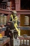 Templo dourado em Patan, cidade de Lalitpur, Nepal Imagens de Stock