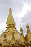 Templo dourado (esse Luang) Imagem de Stock Royalty Free
