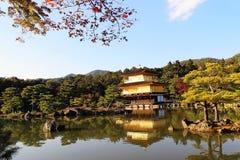 Templo dourado Kyoto Japão de Kinkakuji Fotos de Stock Royalty Free