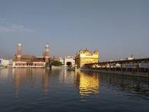 Templo dourado Sachkhand Darbar Sahib imagem de stock royalty free