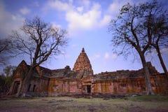 Templo e céu Fotografia de Stock