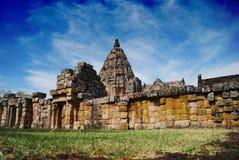 Templo e parque histórico Imagens de Stock Royalty Free