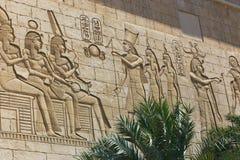 Templo egípcio Foto de Stock Royalty Free