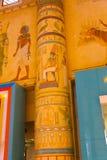 Templo egípcio imagem de stock