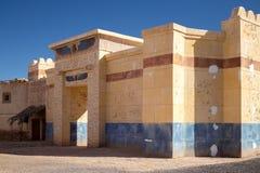 Templo egípcio antigo fotografia de stock royalty free