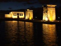 Templo egipcio de Debod Foto de archivo