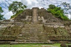 Templo elevado Imagem de Stock