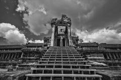 Templo em Angkor Wat fotografia de stock