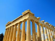 Templo em Atenas Fotografia de Stock