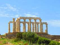 Templo em Atenas Foto de Stock Royalty Free