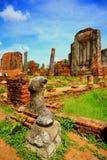 templo em Ayudhya Foto de Stock