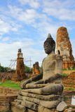 templo em Ayudhya Fotografia de Stock Royalty Free