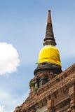 Templo em Ayutthaya Foto de Stock