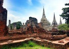 Templo em Ayutthaya Fotografia de Stock Royalty Free