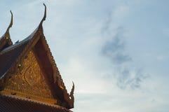 Templo em Banguecoque, Tailândia Fotografia de Stock Royalty Free
