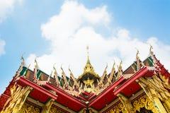 Templo em Banguecoque Tailândia Fotografia de Stock Royalty Free