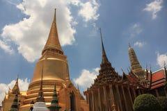 Templo em Banguecoque, Tailândia Imagem de Stock