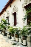 Templo em Banguecoque, Tailândia fotos de stock royalty free