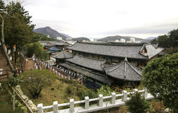 Templo em busan Coreia Imagens de Stock Royalty Free