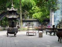 Templo em Chengdu imagens de stock