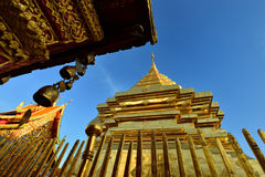 Templo em Chiang Mai Fotografia de Stock Royalty Free