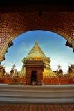 Templo em Chiang Mai Foto de Stock