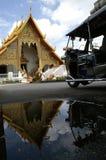 Templo em Chiang Mai imagem de stock