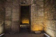 Templo em Egipto Foto de Stock