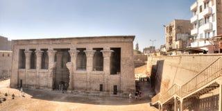 Templo em Esna, Egipto de Khnum fotografia de stock