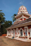 Templo em Goa, Índia Fotografia de Stock Royalty Free